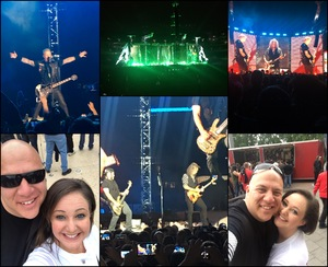 Salvador attended Metallica Worldwired Tour With Special Guest Avenged Sevenfold With Volbeat on May 10th 2017 via VetTix