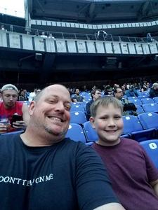 Steven attended Metallica Worldwired Tour With Special Guest Avenged Sevenfold With Volbeat on May 10th 2017 via VetTix