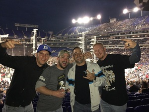 Benjamin attended Metallica Worldwired Tour With Special Guest Avenged Sevenfold With Volbeat on May 10th 2017 via VetTix