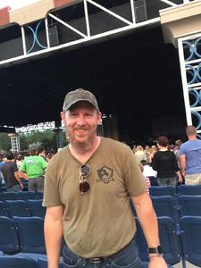 Andre attended Brad Paisley With Special Guest Dustin Lynch, Chase Bryant, and Lindsay Ell on May 20th 2017 via VetTix