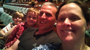 Leah attended The Wild Kratts Live on May 21st 2017 via VetTix