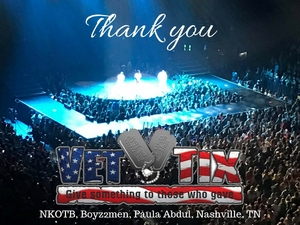 Jason and Diane attended The Total Package Tour - NKOTB With Paula Abdul and Boyz II Men on May 17th 2017 via VetTix