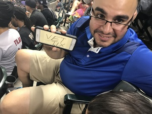 Fernando attended Arizona Diamondbacks vs. Milwaukee Brewers - MLB on Jun 10th 2017 via VetTix