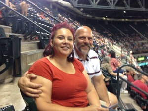 Chris attended Arizona Diamondbacks vs. Milwaukee Brewers - MLB on Jun 10th 2017 via VetTix