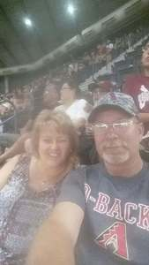 Todd attended Arizona Diamondbacks vs. Milwaukee Brewers - MLB on Jun 10th 2017 via VetTix