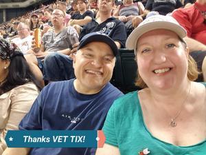 Dave & Ann attended Arizona Diamondbacks vs. Philadelphia Phillies - MLB on Jun 24th 2017 via VetTix