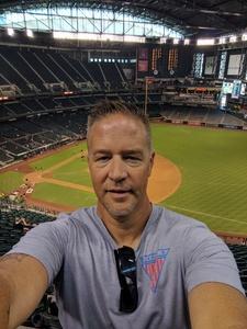 Austin attended Arizona Diamondbacks vs. Philadelphia Phillies - MLB on Jun 25th 2017 via VetTix