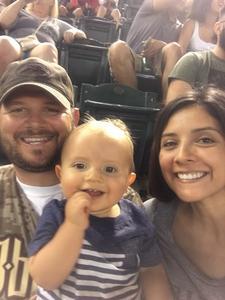 Jessica attended Arizona Diamondbacks vs. Philadelphia Phillies - MLB on Jun 25th 2017 via VetTix