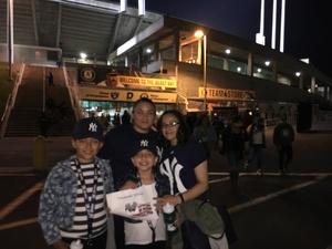 Melissa attended Oakland Athletics vs. New York Yankees - MLB on Jun 15th 2017 via VetTix