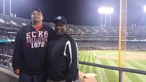 greg attended Oakland Athletics vs. New York Yankees - MLB on Jun 15th 2017 via VetTix