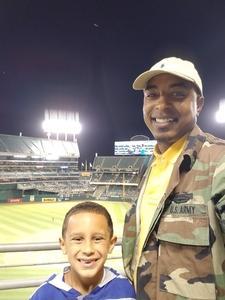 Rocky attended Oakland Athletics vs. New York Yankees - MLB on Jun 15th 2017 via VetTix