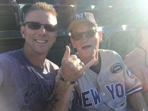 Gerard attended Oakland Athletics vs. New York Yankees - MLB on Jun 15th 2017 via VetTix
