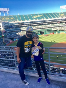 Roberto attended Oakland Athletics vs. New York Yankees - MLB on Jun 15th 2017 via VetTix