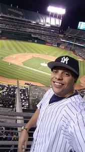 Angel attended Oakland Athletics vs. New York Yankees - MLB on Jun 15th 2017 via VetTix
