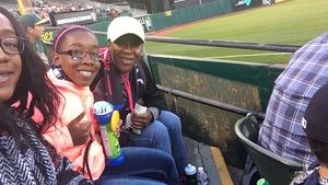 Sydney attended Oakland Athletics vs. New York Yankees - MLB on Jun 15th 2017 via VetTix