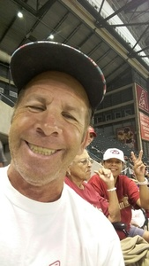Paul attended Arizona Diamondbacks vs. Cincinnati Reds - MLB on Jul 8th 2017 via VetTix