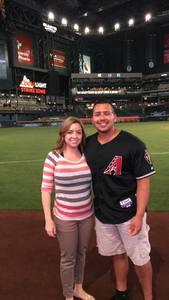 Jose attended Arizona Diamondbacks vs. Cincinnati Reds - MLB on Jul 8th 2017 via VetTix