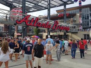 Aaron attended Atlanta Braves vs. Arizona Diamondbacks - MLB on Jul 15th 2017 via VetTix