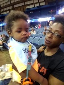 CLAUDETTA attended Chicago Sky vs. Washington Mystics - WNBA on Jun 25th 2017 via VetTix