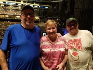 Mary attended Daryl Hall and John Oats With Tears for Fears Tour on Jun 13th 2017 via VetTix