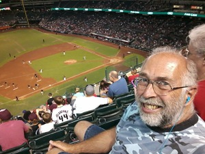 Bruce attended Arizona Diamondbacks vs. Cincinnati Reds - MLB on Jul 9th 2017 via VetTix
