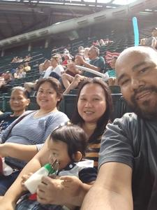 Jerome attended Arizona Diamondbacks vs. Cincinnati Reds - MLB on Jul 9th 2017 via VetTix