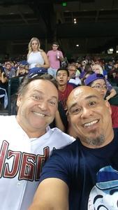 Allende attended Arizona Diamondbacks vs. Washington Nationals - MLB on Jul 21st 2017 via VetTix