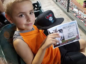 John attended Arizona Diamondbacks vs. Washington Nationals - MLB on Jul 21st 2017 via VetTix