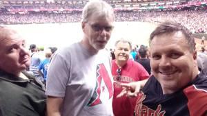 Michael attended Arizona Diamondbacks vs. Washington Nationals - MLB on Jul 21st 2017 via VetTix