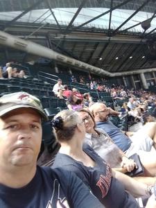 Rob attended Arizona Diamondbacks vs. Washington Nationals - MLB on Jul 21st 2017 via VetTix