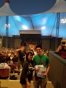 Jason attended Korn With Special Guest Stone Sour - the Serenity of Summer - Reserved Seats on Jun 22nd 2017 via VetTix