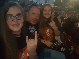Gregory attended Korn With Special Guest Stone Sour - the Serenity of Summer - Reserved Seats on Jun 22nd 2017 via VetTix