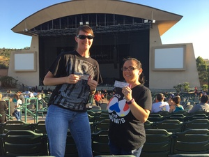 stephanie siemens attended Boston With Joan Jett and the Black Hearts - Hyper Space Tour - Reserved Seats on Jun 18th 2017 via VetTix