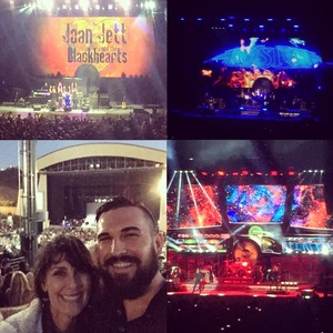 Jory attended Boston With Joan Jett and the Black Hearts - Hyper Space Tour - Reserved Seats on Jun 18th 2017 via VetTix