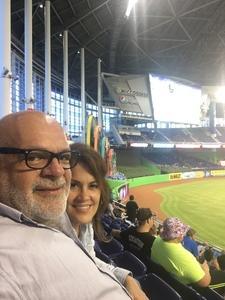 Francisco attended Miami Marlins vs. Washington Nationals - MLB on Jun 20th 2017 via VetTix