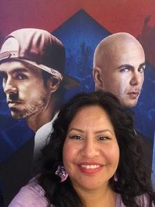 Tara attended Enrique Iglesias and Pitbull Live at the Pepsi Center on Jun 6th 2017 via VetTix