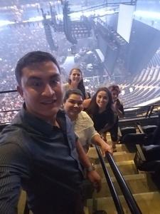 Adriana attended Enrique Iglesias and Pitbull Live at the Pepsi Center on Jun 6th 2017 via VetTix