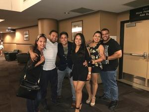 Luis attended Enrique Iglesias and Pitbull Live at the Pepsi Center on Jun 6th 2017 via VetTix