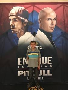 Jose attended Enrique Iglesias and Pitbull Live at the Pepsi Center on Jun 6th 2017 via VetTix