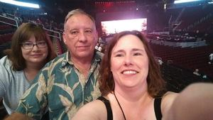 Lisa Miller attended Queen + Adam Lambert Return to Rock North America on Jun 23rd 2017 via VetTix