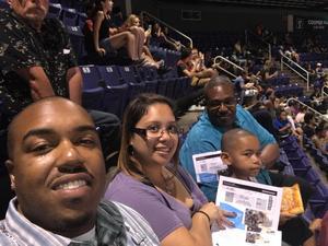 Vernon attended Arizona Rattlers vs. Cedar Rapids Titans - IFL on Jun 11th 2017 via VetTix