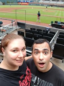 Jenna attended Atlanta Braves vs. San Francisco Giants - MLB on Jun 20th 2017 via VetTix