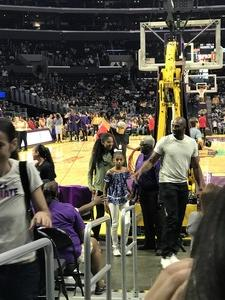 willie attended Los Angeles Sparks vs. Phoenix Mercury - WNBA - Armed Services Day! on Jun 18th 2017 via VetTix