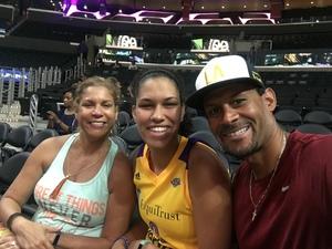 Frances attended Los Angeles Sparks vs. Phoenix Mercury - WNBA - Armed Services Day! on Jun 18th 2017 via VetTix