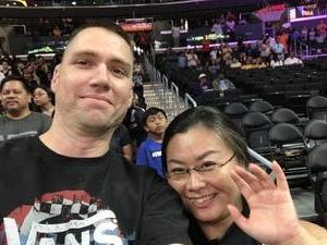 Steven attended Los Angeles Sparks vs. Phoenix Mercury - WNBA - Armed Services Day! on Jun 18th 2017 via VetTix