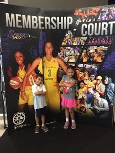 Jose attended Los Angeles Sparks vs. Phoenix Mercury - WNBA - Armed Services Day! on Jun 18th 2017 via VetTix