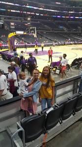 Johnathon attended Los Angeles Sparks vs. Phoenix Mercury - WNBA - Armed Services Day! on Jun 18th 2017 via VetTix
