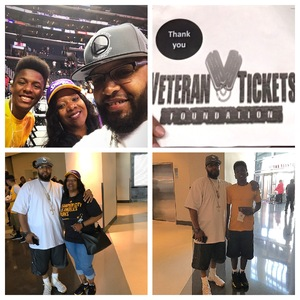 Le Royse attended Los Angeles Sparks vs. Phoenix Mercury - WNBA - Armed Services Day! on Jun 18th 2017 via VetTix