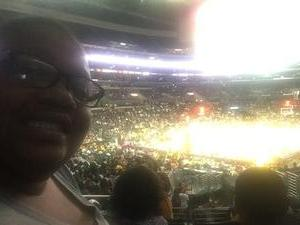 Tiffani attended Los Angeles Sparks vs. Phoenix Mercury - WNBA - Armed Services Day! on Jun 18th 2017 via VetTix