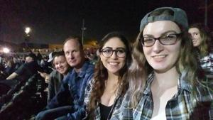 Chad attended Brad Paisley With Special Guest Dustin Lynch, Chase Bryant, and Lindsay Ell - Reserved Seats on Jun 23rd 2017 via VetTix